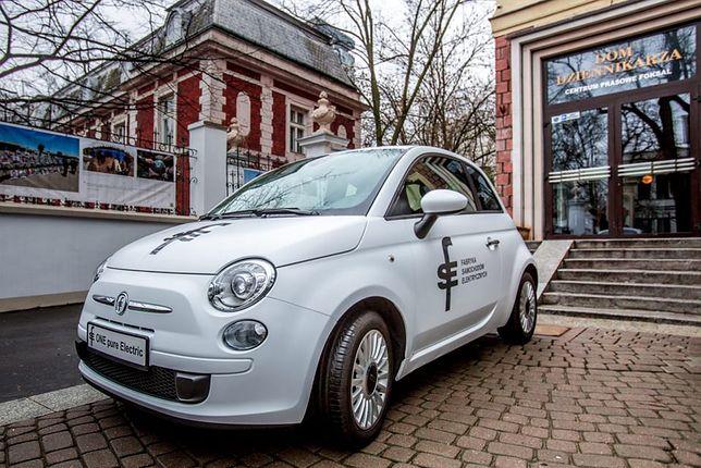 Pierwszy polski samochód elektryczny FSE-01 w wersji przedprodukcyjnej