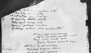 List Adama Mickiewicza sprzedany na aukcji za 98 tys. zł