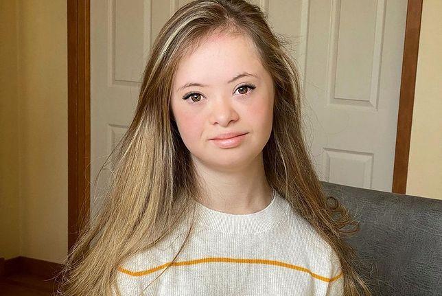 Nastolatka z zespołem Downa robi karierę w modelingu