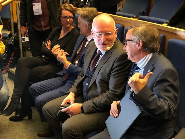"""Makowski: """"Wzniosłe deklaracje i ogólniki. Timmermans mówił w Krakowie o przyszłości Unii"""" [OPINIA]"""