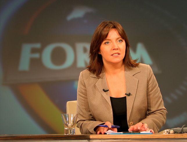 Joanna Lichocka, niegdyś dziennikarka TVP, dziś poseł PiS.