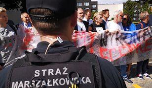 Obywatele RP na terenie Sejmu