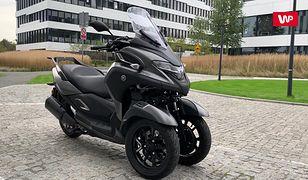 Yamaha Tricity 300 - duży skuter na kategorię B