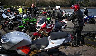 Motocykle są popularnym środkiem transportu w Wielkiej Brytanii