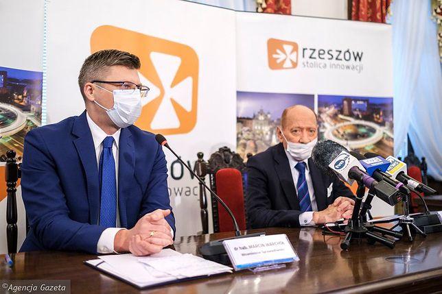 Rzeszów. Marcin Warchoł i Tadeusz Ferenc