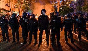 Niemcy. Zamieszki z policją finałem pierwszomajowej demonstracji