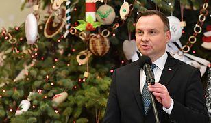 Andrzej Duda zarzucił sędziom SN łamanie prawa