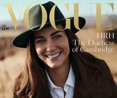 """Księżna Kate na okładce """"Vogue'a"""". Jak wypadła?"""