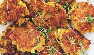 Garam masala bhaji. Kotleciki bez grama mięsa