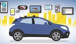 Opel prezentuje możliwości swojego nowego systemu łączności