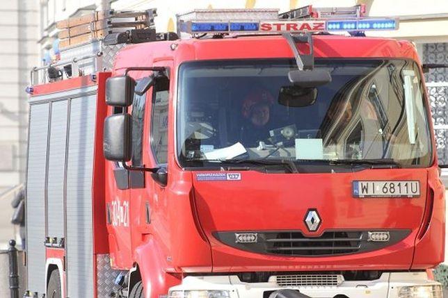Praga Północ: pożar w mieszkaniu. Nie żyje jedna osoba