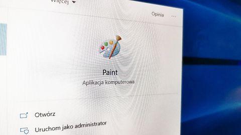 MS Paint jednak zostanie w Windowsie 10? Znikło ostrzeżenie, że zastąpi go Paint 3D