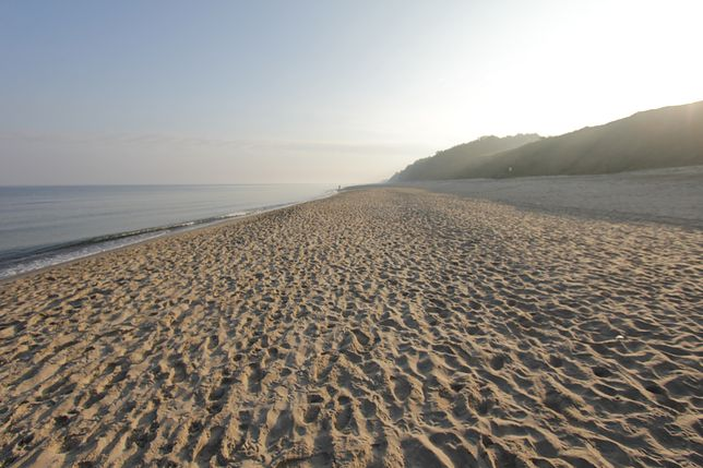 Plaża w Międzyzdrojach - zdjęcie ilustracyjne
