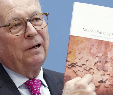 Wolfgang Ischinger - przewodniczący konferencji w Monachium