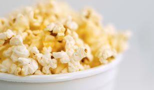 Popcorn zdrową przekąską