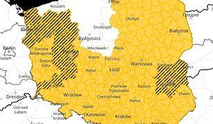 IMGW wydało ostrzeżenia prawie dla całej Polski