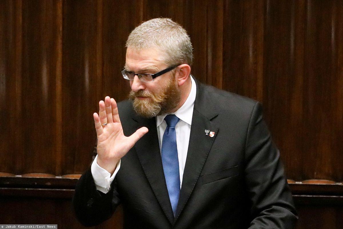 Grzegorz Braun do ministra zdrowia Adama Niedzielskiego: Będziesz pan wisiał! Jakub Kaminski