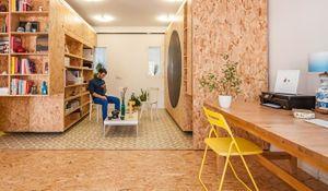 Projekt mieszkania w ruchu według PKMN Architectures
