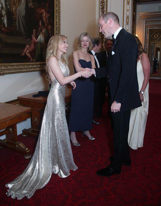 Przywitał ją sam Książę William