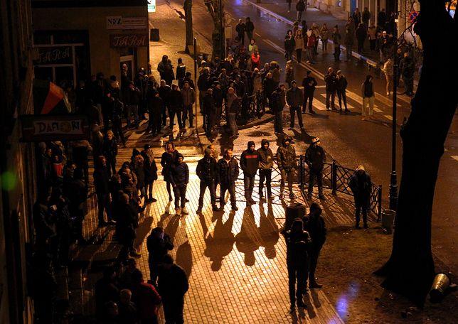 Po śmierci mężczyzny na ulicach Ełku zgromadzili się mieszkańcy