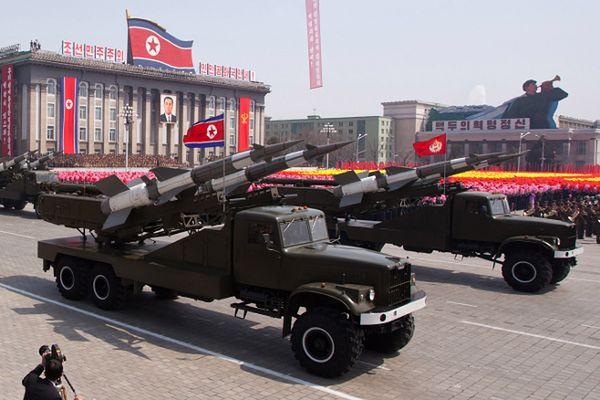 Rakiety SA-3 podczas pokazu w 2012 r.