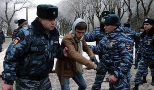 Rosja: policja rozpędziła w Wołgogradzie demonstrację przeciwko władzom
