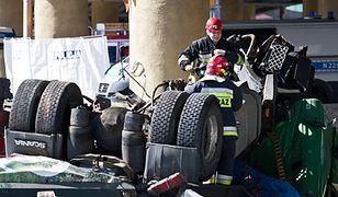 Wypadek w Gdyni - zdjęcia internautów