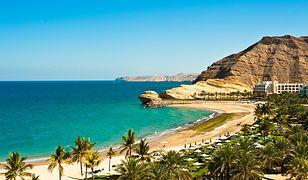 Boskie plaże w Omanie ciągną się po horyzont
