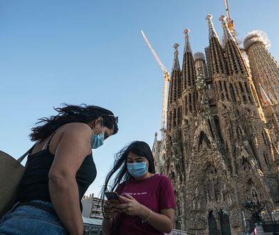 Pustki pod bazyliką Sagrada Familia. Kiedyś to nie do pomyślenia
