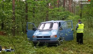 Blachownia: ukradli bankomat i porzucili go w lesie