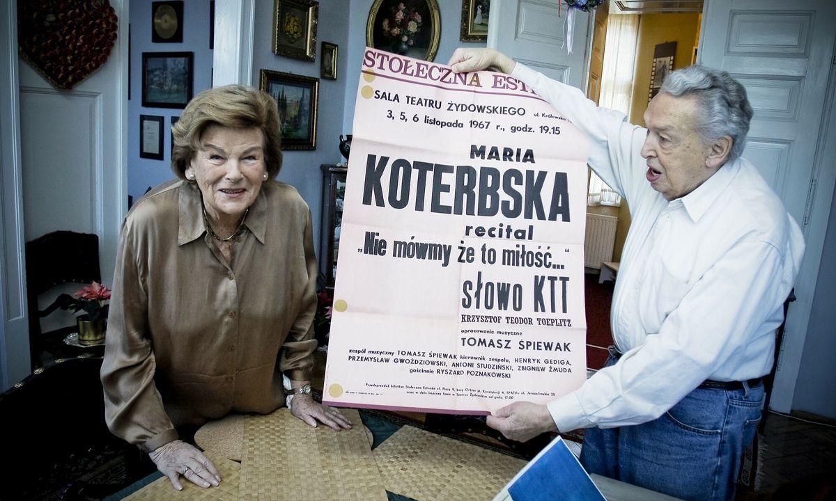 Mąż Marii Koterbskiej był jej największym fanem.