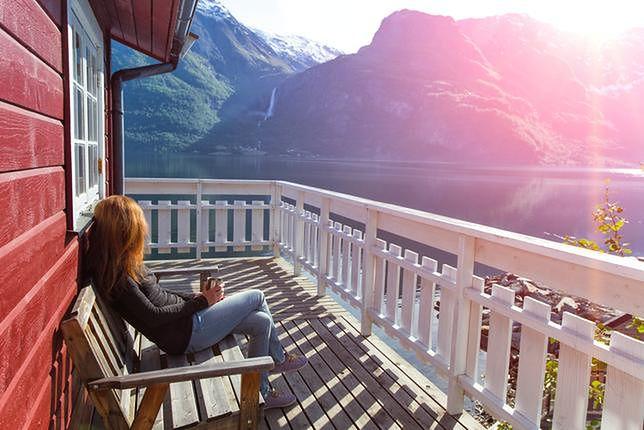 Krajobrazy Norwegii przypominają miejscami egzotyczne wyspy