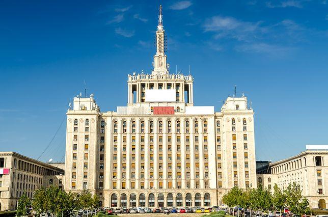 Stalinowskie wieżowce - Dom Wolnej Prasy, Bukareszt, Rumunia
