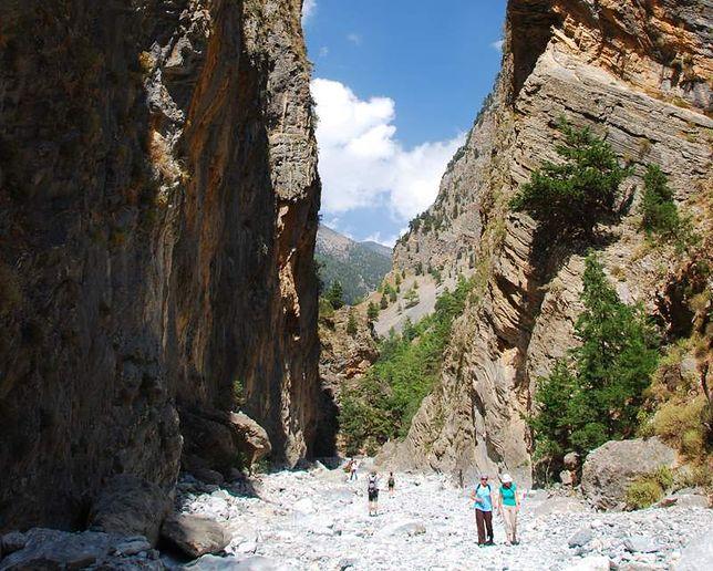 Atrakcje Krety - Wąwóz Samaria