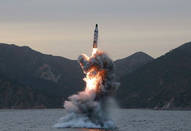 Korea Północna przeprowadziła test rakiety balistycznej