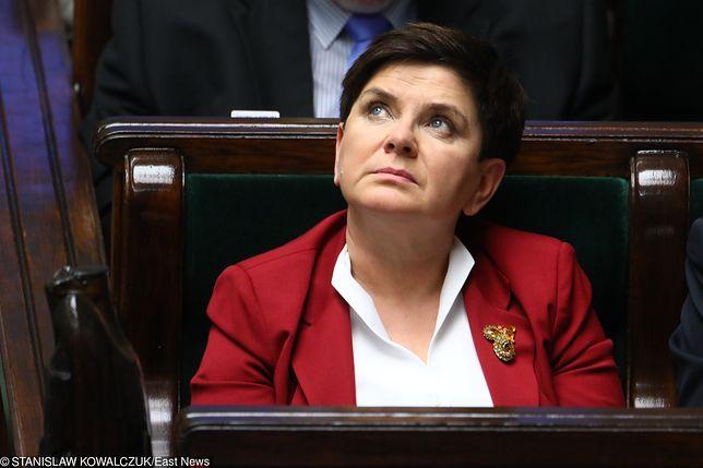 Rekonstrukcja rządu. Beata Szydło milczy jak zaklęta