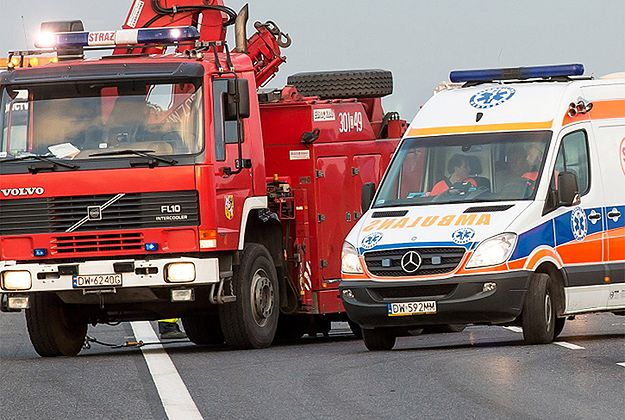 Kolejne wypadki na A4. Ranne co najmniej trzy osoby