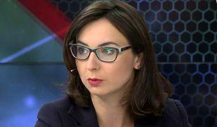 """Fenomenalna reakcja Gasiuk-Pihowicz na jej """"romans"""" w """"Uchu Prezesa"""". Zawstydziła Jakiego, Giertycha i Budkę"""