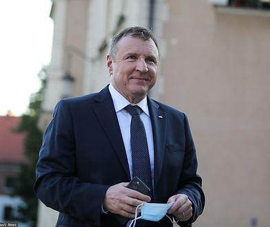 Jacek Kurski ochrzcił córkę na Jasnej Górze. Ceremonię odprawił abp Depo