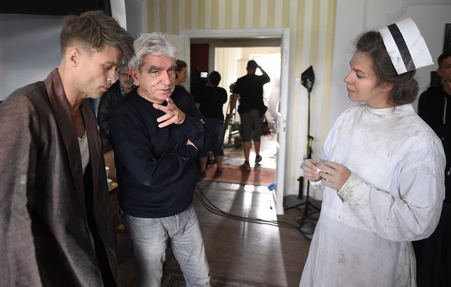 ''Dywizjon 303'': byliśmy z kamerą na planie filmu Wiesława Saniewskiego [WIDEO]