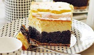 Makowiec z serem. Smakowite ciasto nie tylko na święta