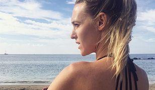 Ola Żebrowska seksownie rozczochrana. Idealne zdjęcie w bikini z wakacji