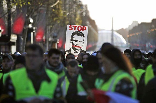 Protesty we Francji trwają czwarty weekend z rzędu