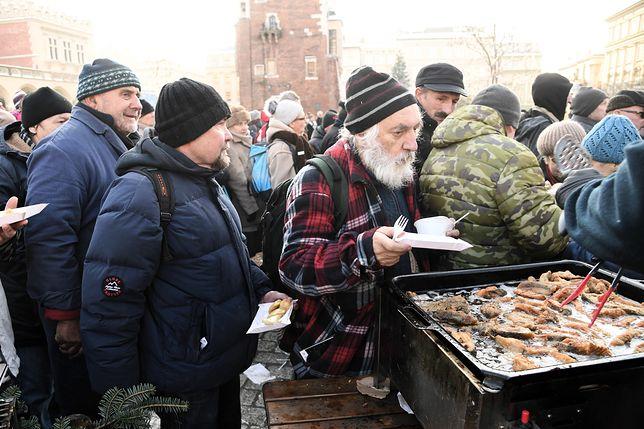 Podczas wigilii wydano 50 tys. potraw