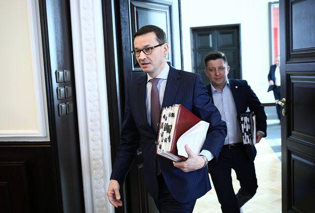 Premier Mateusz Morawiecki przyjął dymisje 17 wiceministrów