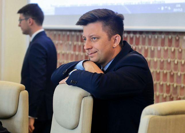 Szef kancelarii premiera Michał Dworczyk