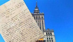 Przedwojenny list miłosny trafił w ręce Bartka Węglarczyka