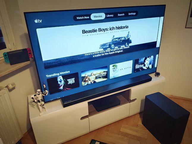Aplikacja Apple TV dostępna jest m.in. na telewizorach LG i Samsung, fot. Jakub Krawczyński