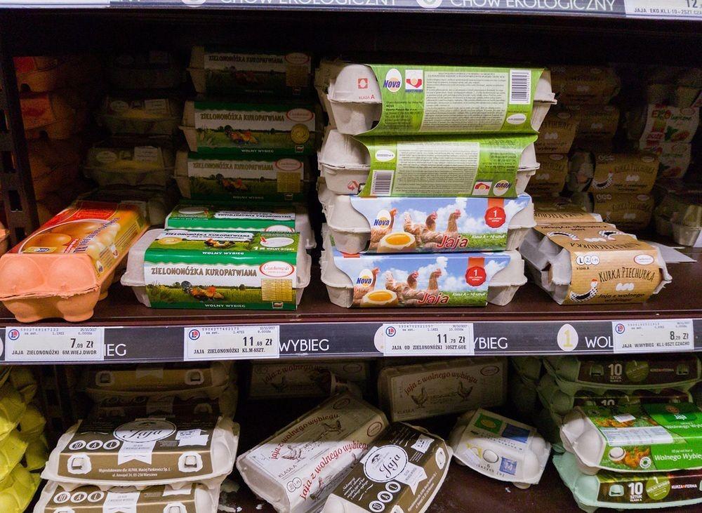 Jakie jaja kupują Polacy? Tanie. Rzadko sięgamy po eko jaja