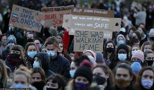 Wielka Brytania. Burza po śmierci Sarah Everard. Protesty w kraju